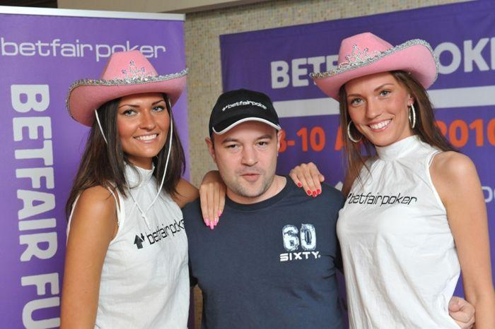Славен Попов по време на Betfair Poker LIVE! Tallinn