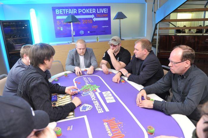 Започна Betfair Poker Live! Tallinn 102