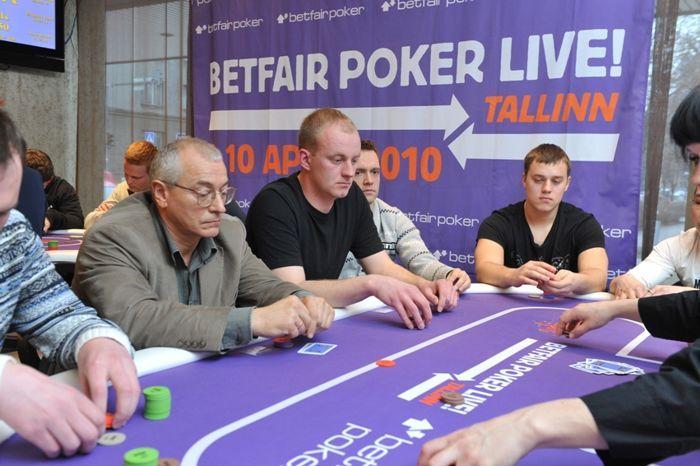 62 mängijat jätkavad Betfair Poker Live! teist päeva 101