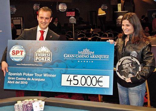 Catarina Santos Vence Spanish Poker Tour Aranjuez 101