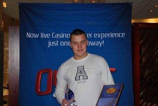 Warm-up turniiri võitja Andres Allsalu