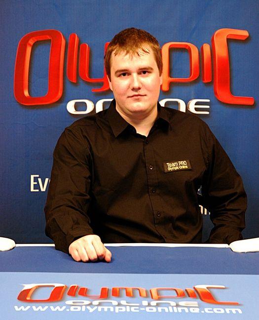 "Verivärske Olympic Online pokkeriproff ""Hotcocacola"""
