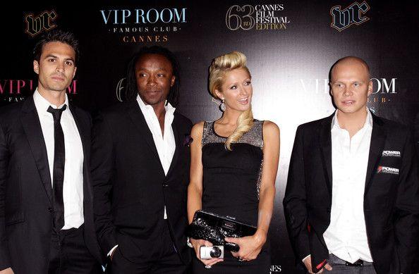 Ilari Sahamies на червения килим заедно с Paris Hilton 103