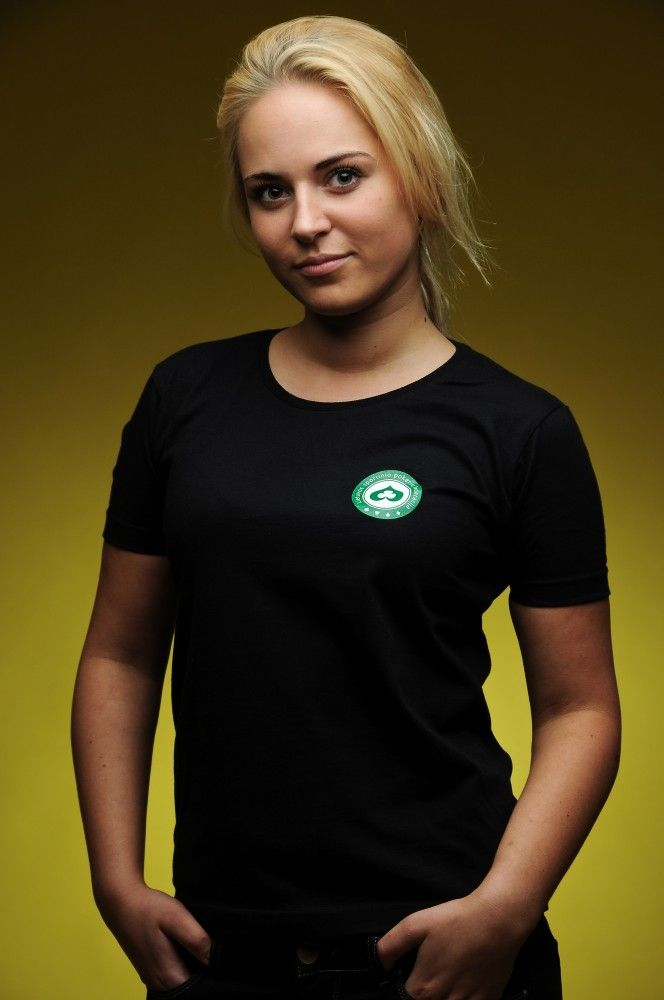 moteriški paprasti marškinėliai