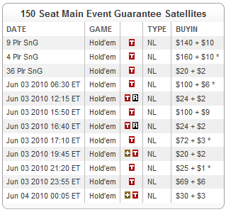 150 гарантирани места за WSOP Main Event от Full Tilt 101
