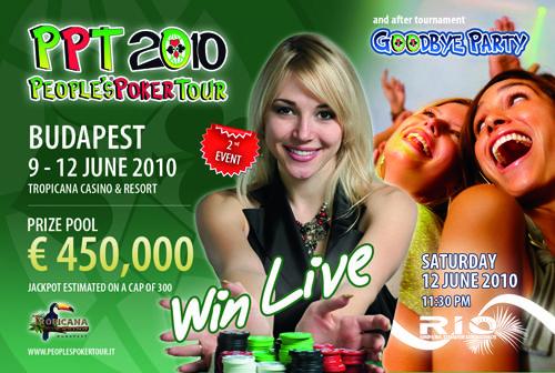 People's Poker Tour - Tropicana Casino - Budapest 101