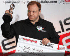 English Poker Open 2009 Champion David La Ronde