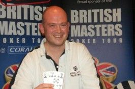 Gala Coral British Masters Poker Tour Leeds Champion Ross Johnson
