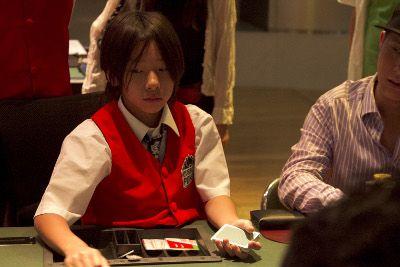 Twelve-year-old Tokio.