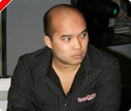Kai spiller sin første WSOP turnering.