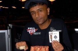 Double Bracelet Winner Praz Bansi