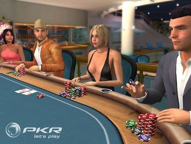 PKR is the nearest thing to live poker online