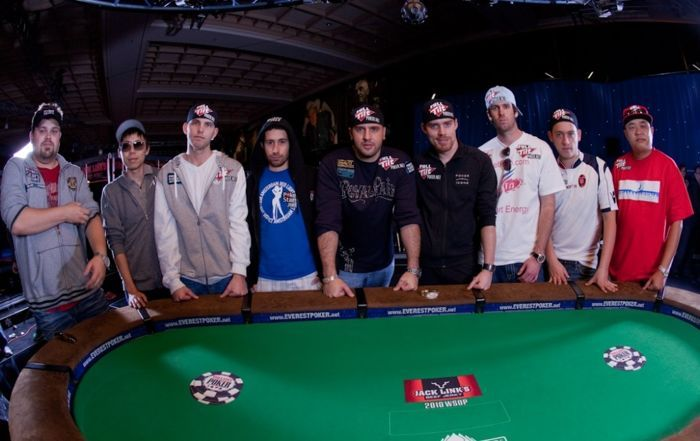 WSOP Main Event finaallaud 2010