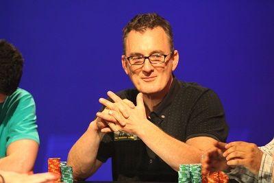 Barny Boatman, picture courtesy of Mickey May/Matchroom Poker