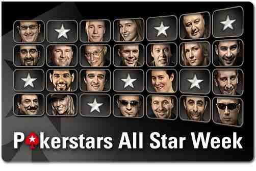 Los profesionales, arrasados en la PokerStars All Star Week 101