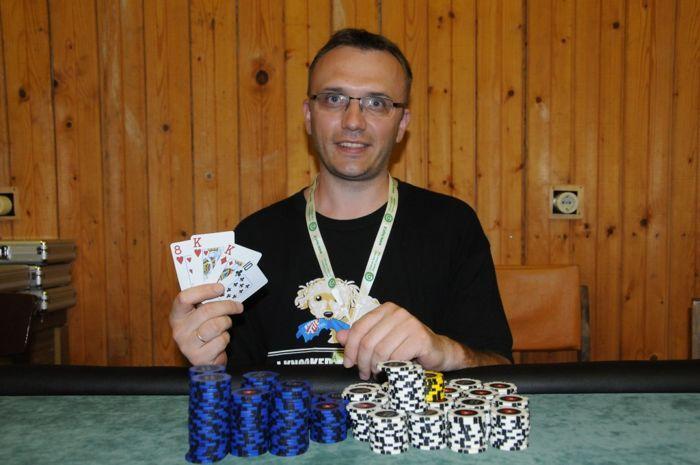 Omahos turnyro nugalėtojas Rolandas Dilnikaitis
