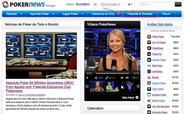 Novidades na PokerNews 101
