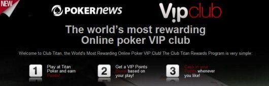 Titan Poker VIP kampanje