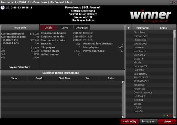 ¡Aún estás a tiempo para calificarte para el próximo Winner Poker Super k de este... 101