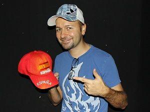 Negreanu, fan de la Selección Española de fútbol