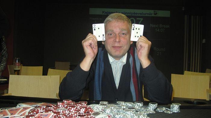 Margus Millert võitis pokkeriturniiri
