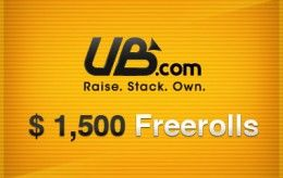 00 freeroll serien fortsetter hos Absolute Poker og UltimateBet - Minimum innskudd for... 101