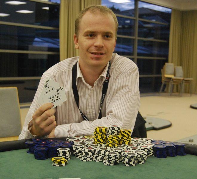 Eliminacinio turnyro nugalėtojas Klaudijus Rimkevičius
