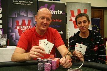 Alan Trueick and runner up Romain Mahot