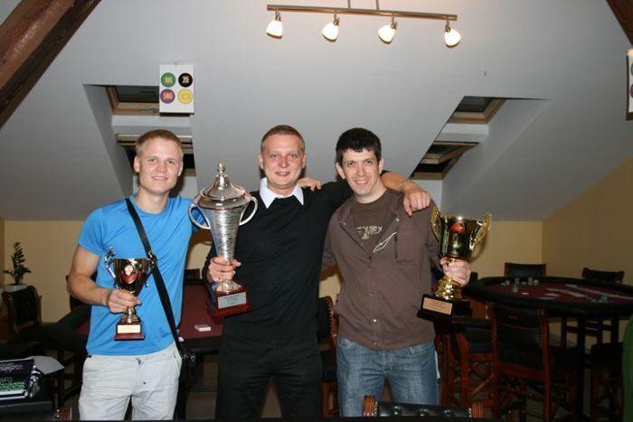 Sezono stipriausieji - Paulius Losunovas, Aurimas Pivoriūnas ir Eduard Sosnovskij