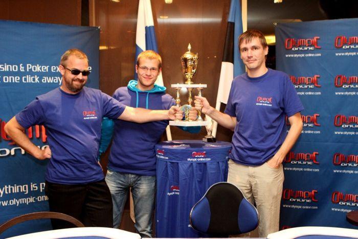 Esikolmikusse jõudsid ainult Eesti mängijad