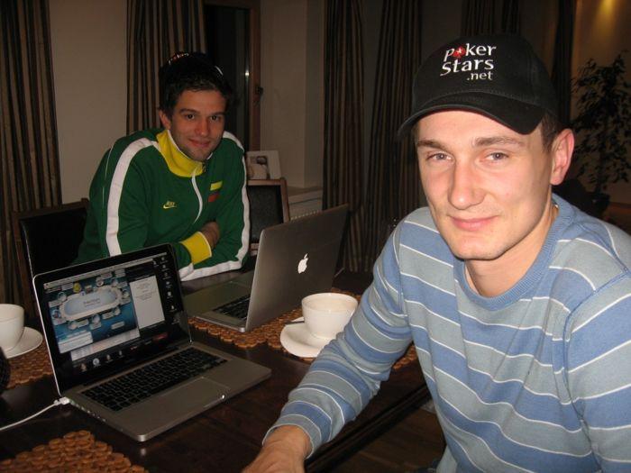 Artėjant BCOOP internete pokerį išbandė Lietuvos rinktinės krepšininkai 101