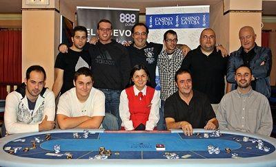 Etapa #10 de la Liga 888.com Poker La Toja: el ganador fue Álvaro Andrade (7.755€) 101