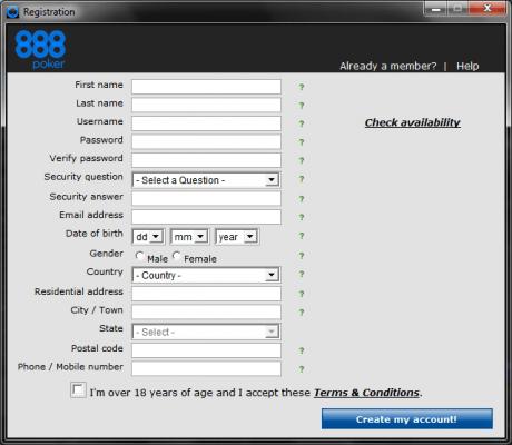 SISTE DAG: Få  hos 888Poker- ingen innskudd! 101