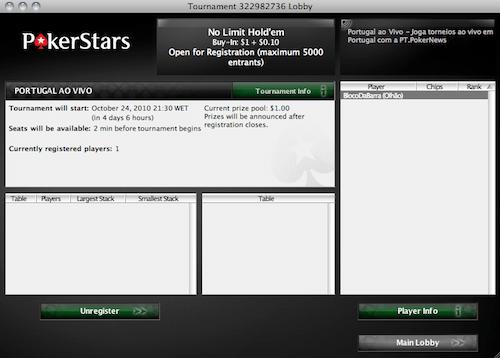 Portugal ao Vivo - Hoje às 21:30 na PokerStars! 101