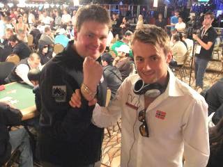 Sigurd og Petter i Las Vegas