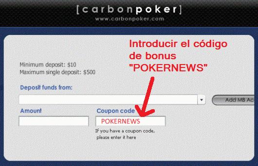 Usa el código de bonus para aprovechar ahora y en el futuro todas las ventajas del Club PokerNews