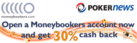 Sign Up To MoneyBookers Today To Get 30% Cash Back Up to €10 on Your First Deposit 101