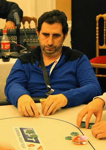Santi, en la primera jornada de juego en Viena