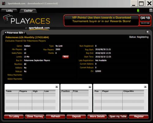 ¡Se acerca el freerolls mensual de 2.000$ de PlayersOnly! 101