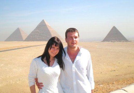 Allan ja Marilyn Egiptuses