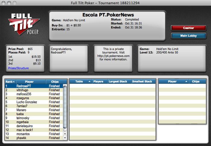 RedrosePT Vence na Liga PT.PokerNews 101
