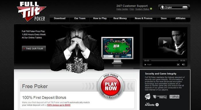 Maailma üks suurimaid pokkeritubasid Full Tilt Poker on Eestis endiselt väga populaarne