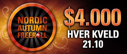 NCOOP -Nordics Championship of Online Poker starter i dag 101