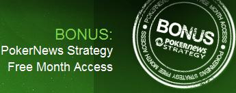 Získejte  Bankroll na PartyPokeru + Jeden měsíc zdarma na PokerNews Strategy! To vše... 101
