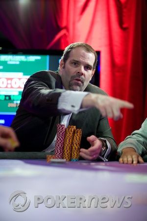 Howard Lederer по време на WSOPE 2010