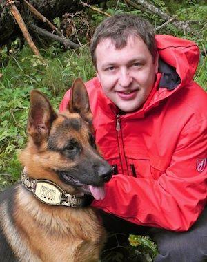 Tony G a jeho německý ovčák Zasko