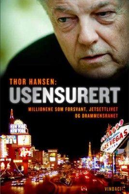 Boken om Thor Hansen, et MUST for alle pokerspillere.