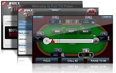 Screenshots av Rush Poker Mobile