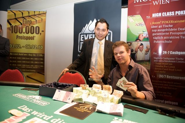 Last year Stefan Jedlicka won this event for €131,720