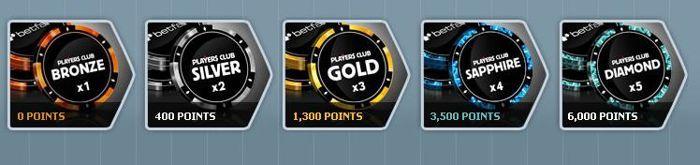 Hrajte, sbírejte body a proměňte je za hotovost, lístky do turnajů, nebo si kupte něco pěkného v Betfair obchodě!